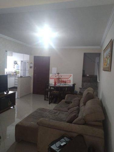 Imagem 1 de 19 de Cobertura Com 2 Dormitórios À Venda, 70 M² Por R$ 420.000,00 - Vila Cecília Maria - Santo André/sp - Co0737