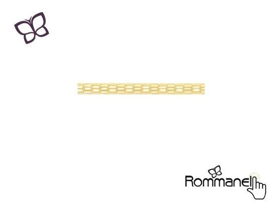 Corrente Masculina Cilíndrico 60cm Rommanel 531133