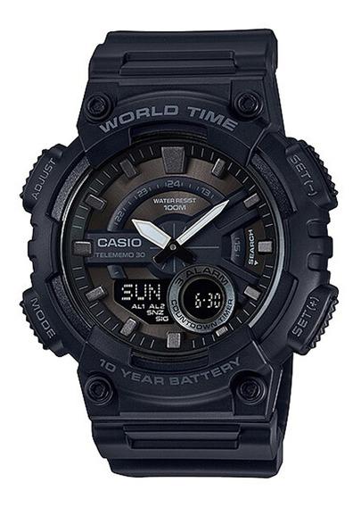 Relógio Casio Standard Digital E Analógico Preto