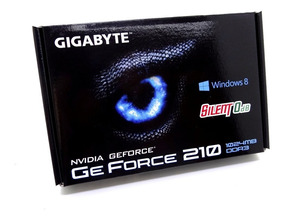 Placa De Vídeo Vga Nvidia Gigabyte Geforce Gt 210 1gb - Gv-n