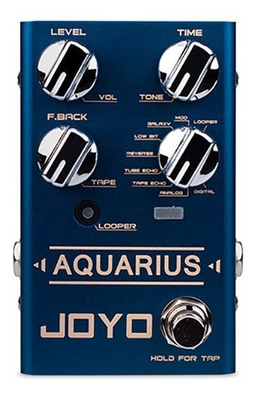Pedal Joyo Aquarius Delay E Looper Para Guitarra R07