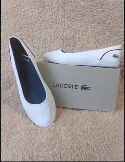 Flats Tenis Zapato Lacoste