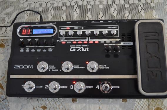 Pedaleira De Guitarra Zoom G7 ((((((. Valvulada )))))