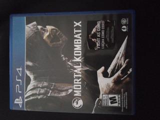 Mortal Kombat X Ps4/fisico