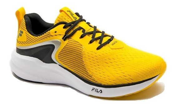 Tênis Fila Fr 97 Energized Masculino - Amarelo Promoção