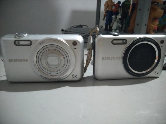 Camera Digital Samsung Kit 2 Máquina Leia Anúncio