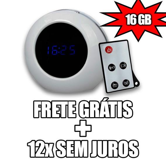 Micro Camera Com Sensor De Movimento Dentro Casa Espia 16gb