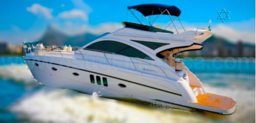 Lancha Cimitarra 41o Fly  Barco Iate Azimut Intermarine