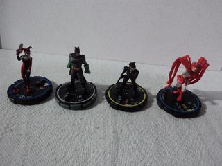 Dc Lote 4 Heroclix Personajes De Batman Diferentes Años