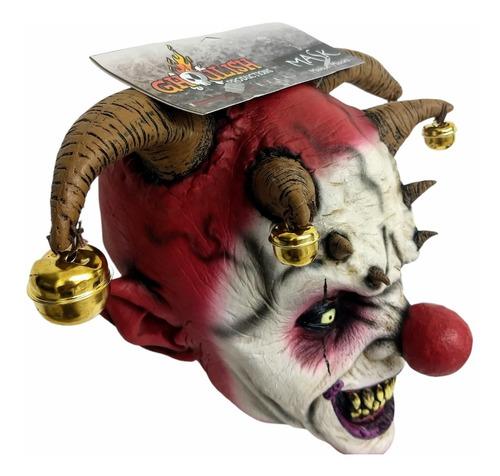 Imagen 1 de 4 de Mascara Hallowen Payaso Demonio Arlequin Latex Envio Gratis