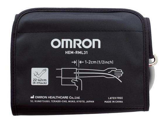 Brazalete Para Tensiómetro Omron Rml-31 22 A 42cm 7120 7121