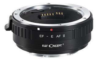 K&f Concept Ef-e Af Ii Anillo Adaptador Para Montura De