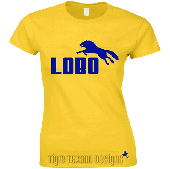 Playera Logo Lobo, Fun, Divertida By Tigre Texano Designs