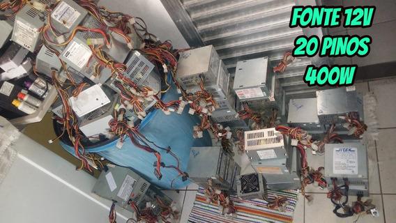 Fonte Pc Atx 12v 20 Pinos 400w | Pergunte