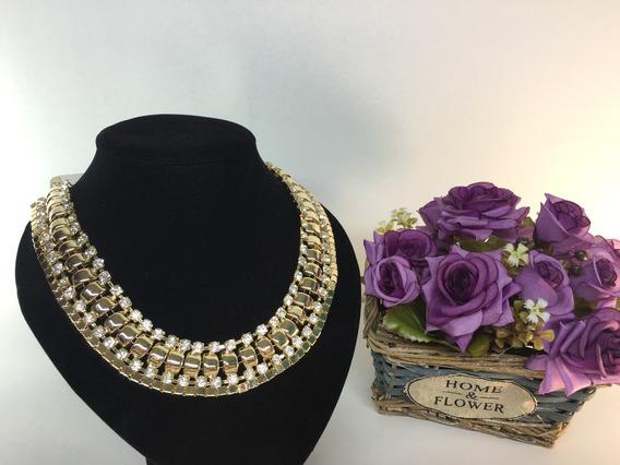 !!collar Dorado Moda Vintage!!