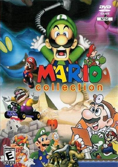 Patch Super Mário Collection Para Ps2 Com Capinha Box Grátis