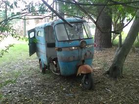 Triciclo-furgón Vespa 1962. Único!