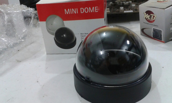 Mini Dome Preto Cúpula De Cristal Multitoc /lj