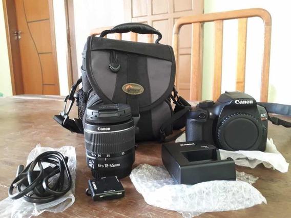 Câmera Fotográfica T6 + Lente 18-55mm