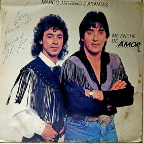 Lp Marco Antonio E Arantes - Me Enche De Amor - Estrelamar 1