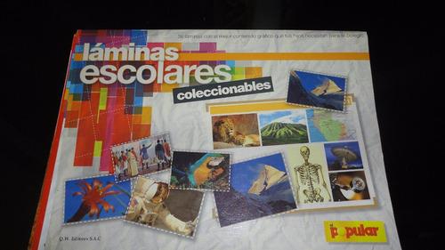 Laminas Escolares De Colección..!!!