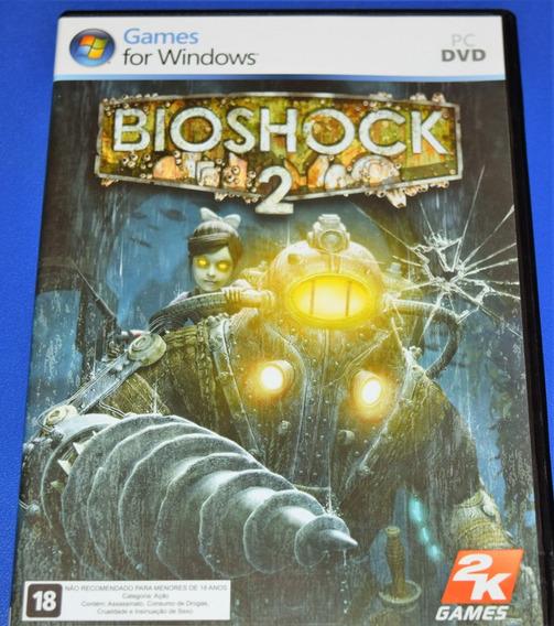 Bioshock 2 Pc Dvd Mídia Física (sem Key)