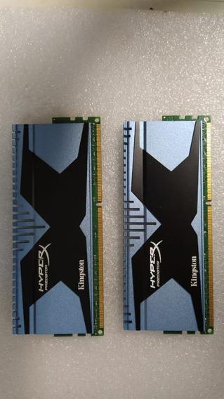 Kit Memória Ram Hyperx Predator 8gb(2x4gb) 2400 Ddr3 Azul