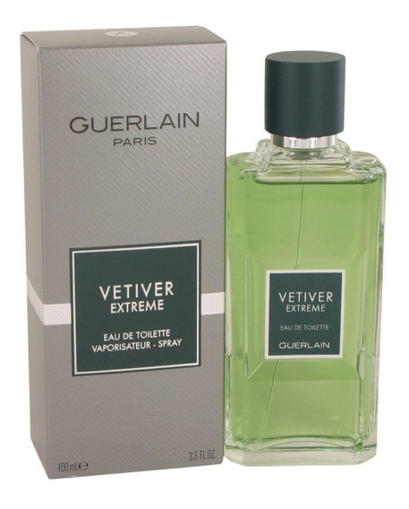 Perfume Vetiver Extreme Guerlain Edt 100ml Original !