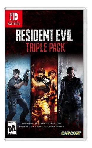 Imagen 1 de 3 de Resident Evil Triple Pack Nintendo Switch  Físico