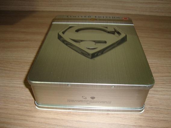 Dvd Superman - Ultimate Collectors Edition / Lata + Digipack