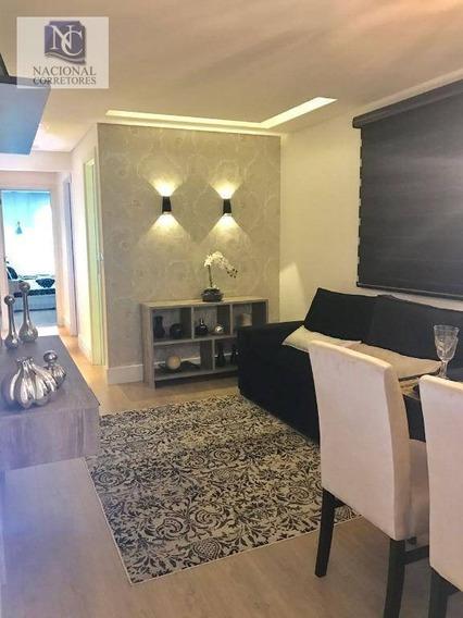 Apartamento À Venda, 55 M² Por R$ 310.000,00 - Vila Curuçá - Santo André/sp - Ap4211