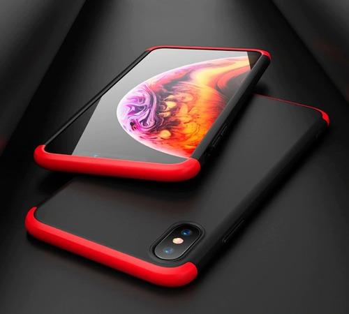 Carcasa, Case, Funda Protectora 360° iPhone XS Max