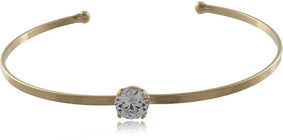 Bracelete Ponto De Luz Folheado Ouro 18k - Não Perca