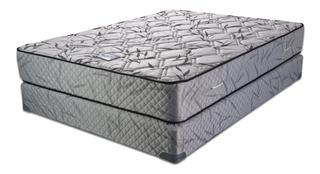 Sommier Suavestar Centuria Pro 2 1/2 plazas 190x140cm gris
