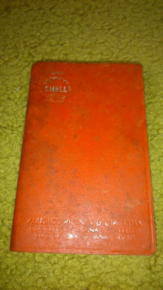 Caderneta De Bolso Anos 50 Shell