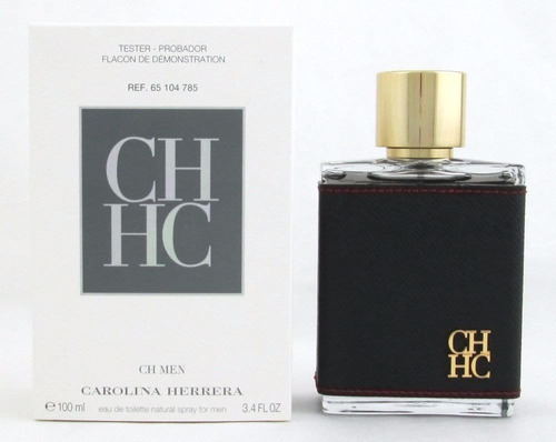 Imagen 1 de 1 de Tester Carolina Herrera Ch Hombre Edt 100 Ml - 100% Original