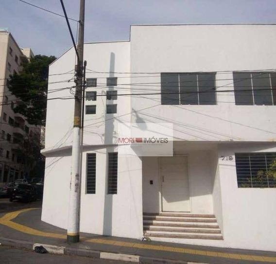 Sobrado Para Alugar, 440 M² Por R$ 8.500/mês - Pacaembu - São Paulo/sp - So0141