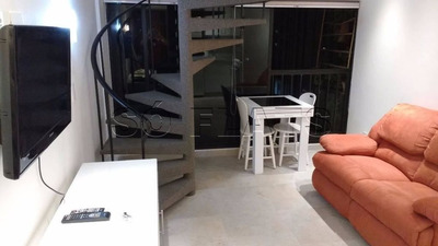 Flat Nos Jardins, 01 Dormitório - Sf89