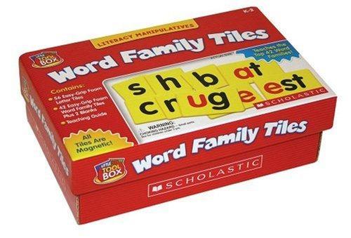 Caja De Herramientas Little Red: Palabra Familia Azulejos