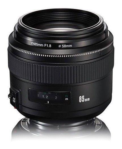 Lente Yongnuo Yn 85mm F/1.8 P/ Canon