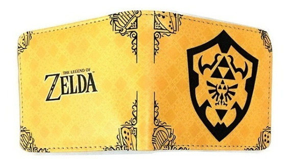 Billetera Cartera The Legend Of Zelda Nintendo Link Majoras Mask 2 Envío Gratis