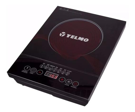 Anafe Electrico De Vitroceramica Yelmo 2000w Pantalla Tactil
