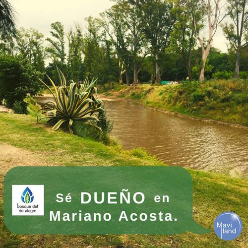Lotes Bosque Del Río Alegre, Mariano Acosta, Merlo.