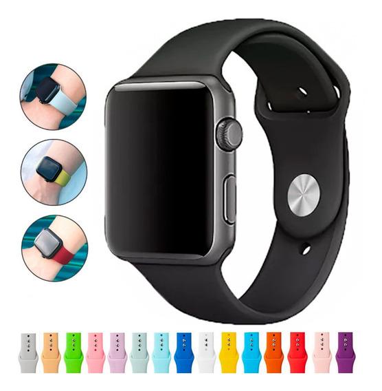 Relógio Smart Watch Sport 42mm 44mm Iwo 8 Serie 4 Com Pulseira De Borracha De Silicone Brinde- Promoção - Pronta Entrega