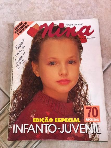 Revista Nina 56 Infanto Juvenil Receitas A Máquina E697