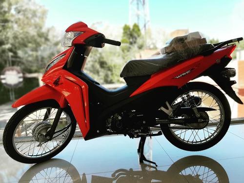 Honda Wave 110 S Cuotas C/tarjeta  Retira Hoy Motopier