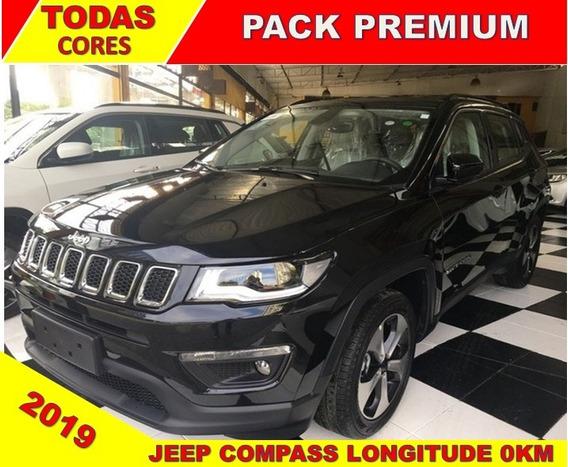 Jeep Compass Longitude Flex 2019 Zero Km C/ Pack Premium