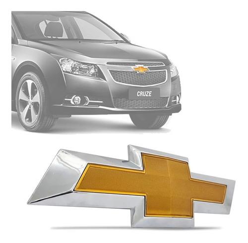 Imagem 1 de 8 de Emblema Dianteiro Chevrolet Cruze 2012 A 2015