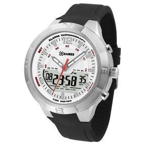 Relógio X Games Masculino Xmspa024 S2px Anadigi Prateado