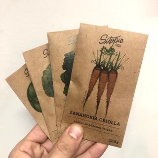 Pack Semillas Sitopia Todo El Año 8 Variedades